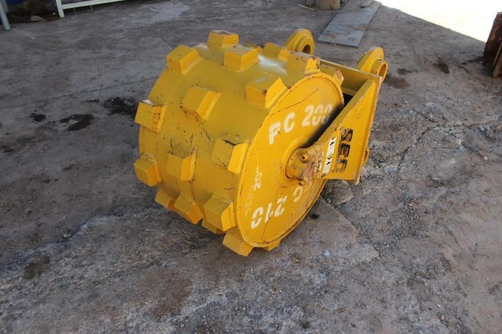 sec compaction wheel suit 20-25 tonne excavator 356969 001