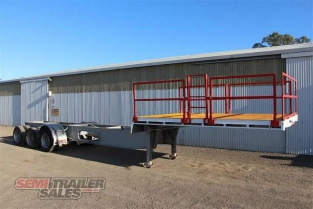 maxitrans semi drop deck skel semi trailer 347766 002