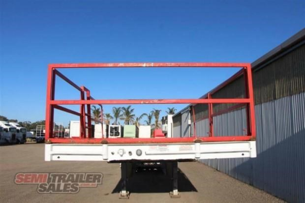maxitrans semi drop deck skel semi trailer 347766 004