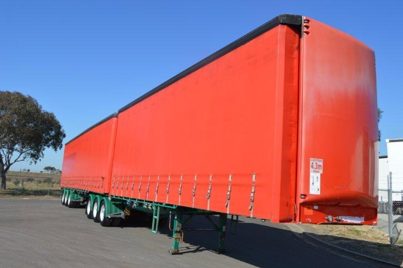 maxitrans st3 tri axle 36 pallet sd b/double 2.88mt high 358345 002