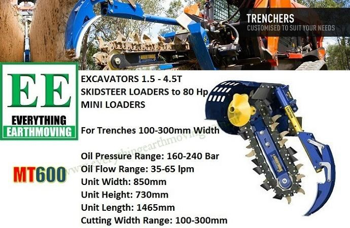 auger torque auger torque ee mt900 trencher is designed to suit mini loaders, skid steers loaders upto 80hp and mini excavators 2.5 to 5 tonnes 358427 059