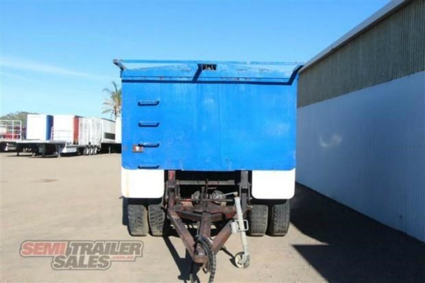 custom semi pig tipping trailer 362308 004