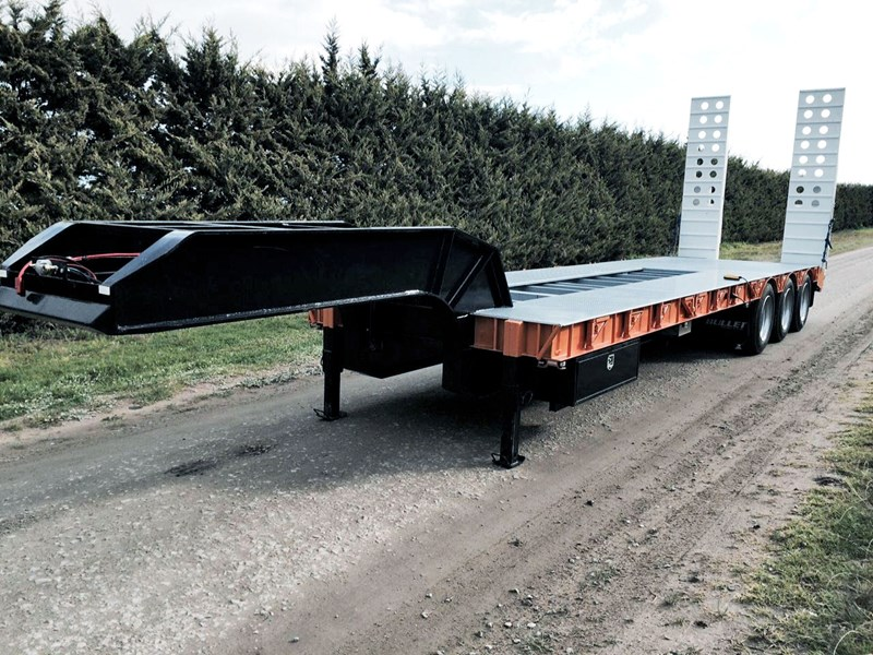 bullet tri axle low loader 295564 005