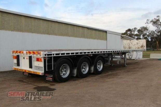 vawdrey semi 41ft flat top semi trailer 322730 003