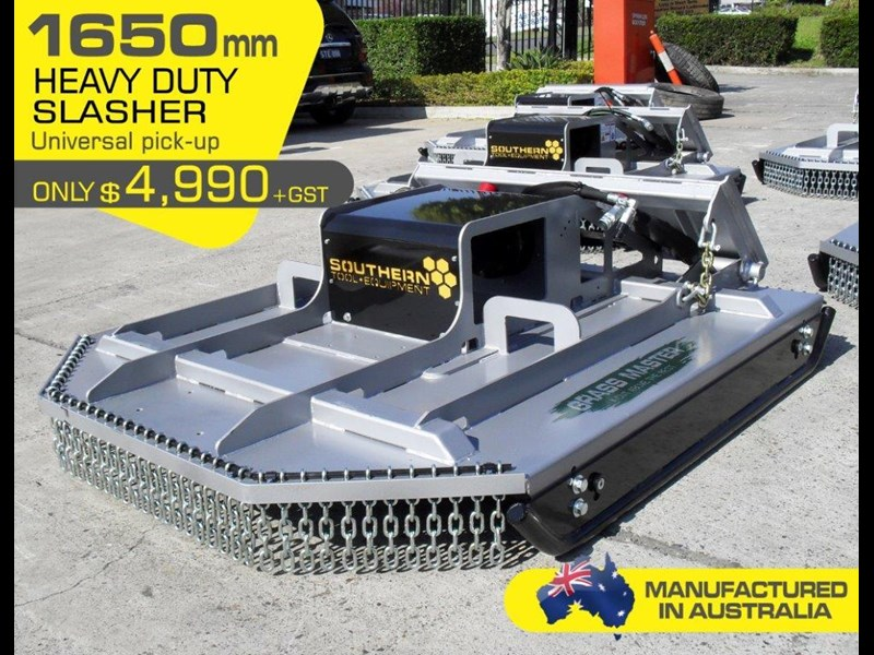 rhino [5' feet] 1650mm loader / takeuchi tl10 tl12 skid steer loader brush cutter / slasher attachment. [attslash] 236312 004