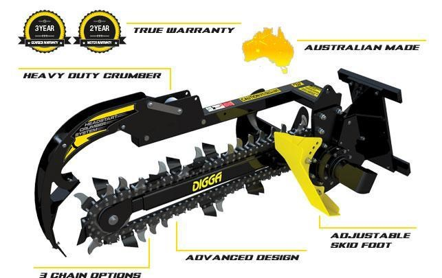 digga mini bigfoot trencher 367876 001