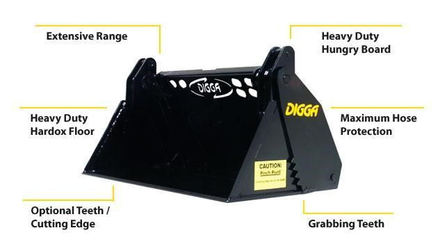 digga mini 4 in 1 bucket 367847 001