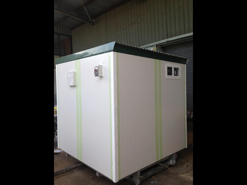 e i group portables 2.4m x 2.4m twin pan double portable building. 368112 005