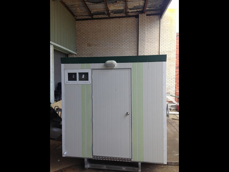 e i group portables 2.4m x 2.4m twin pan double portable building. 368112 007