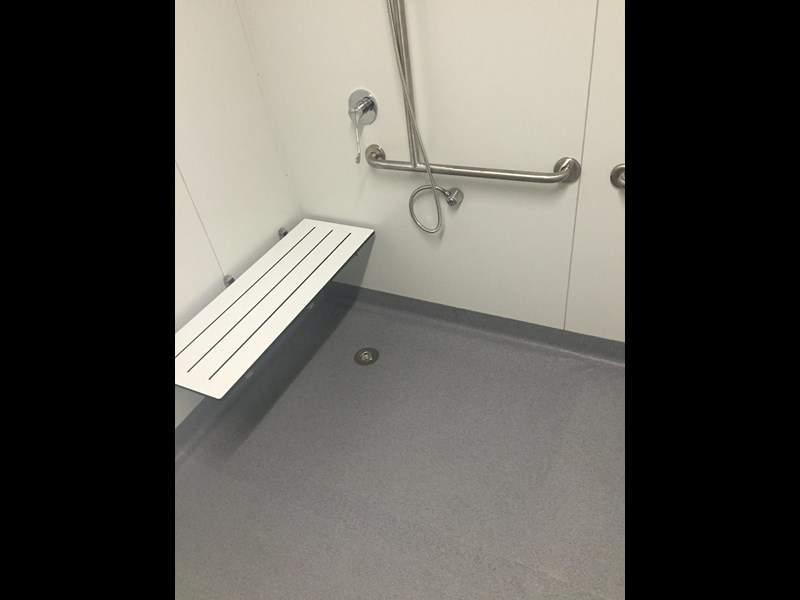 e i group portables compliant 2.4m x 2.4m disabled shower 368124 009