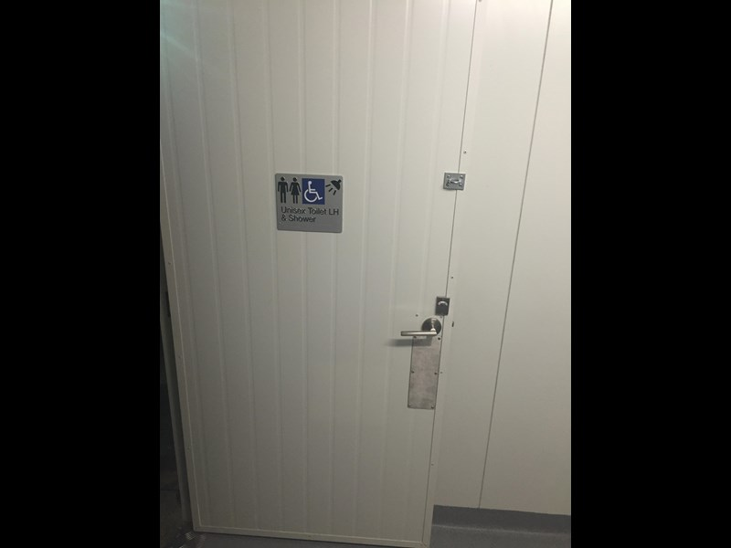 e i group portables 10.8m x 3m ablution/change room/lockers 368138 017