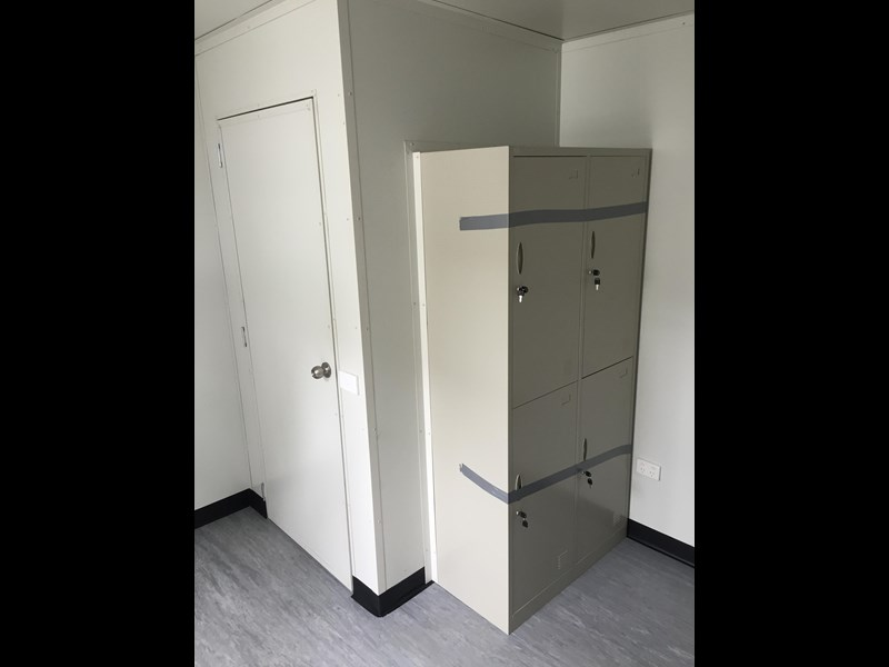 e i group portables 3.6m x 3m toilet/change room 368163 002