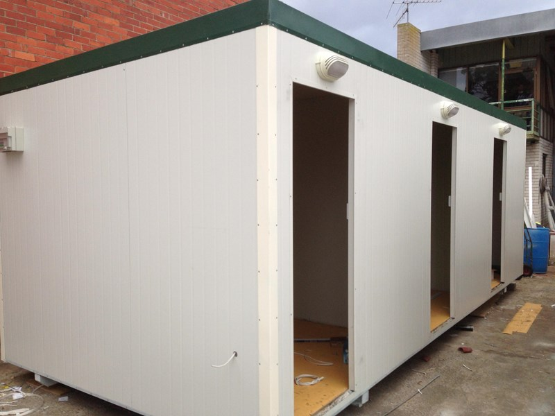 e i group portables 7.2m x 3m three room accommodation 371539 009