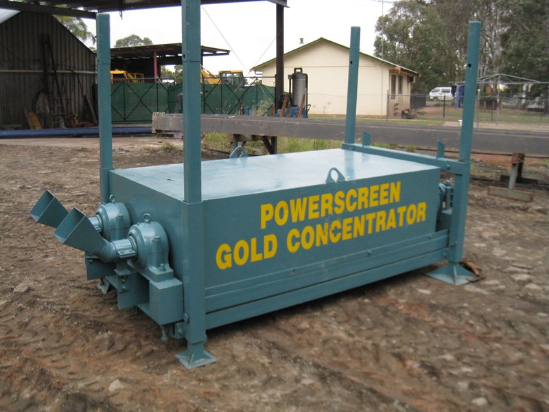 powerscreen gold concentrator 9922 001