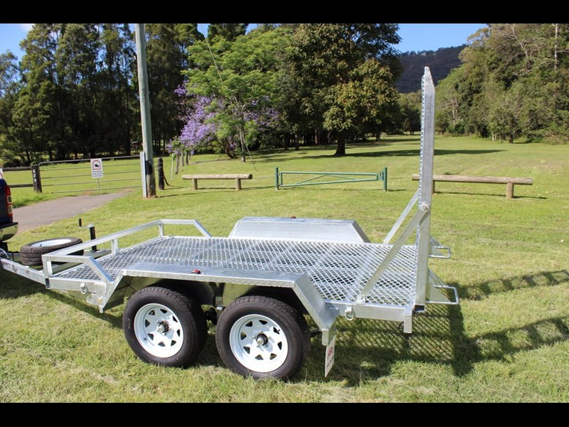 carter yanmar powered zero swing with plant trailer 374048 007