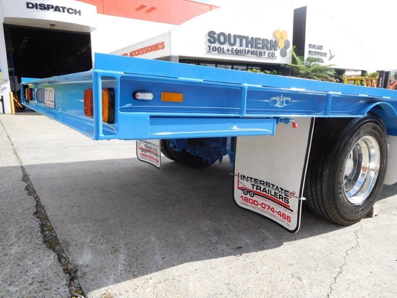 interstate trailers 9 ton heavy duty container trailers / flatbed trailers - suit 20ft container [attttrail] 374130 014