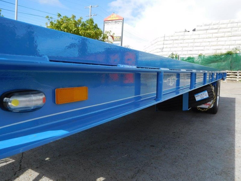 interstate trailers 9 ton heavy duty container trailers / flatbed trailers - suit 20ft container [attttrail] 374130 023