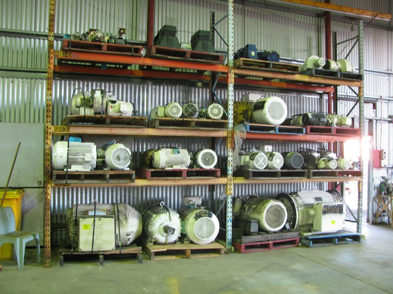 various new stock electric motors 10849 001