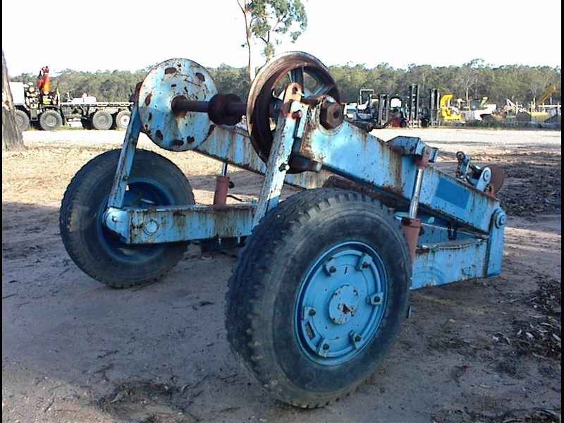custom made cable reel/drum trailer 374496 009