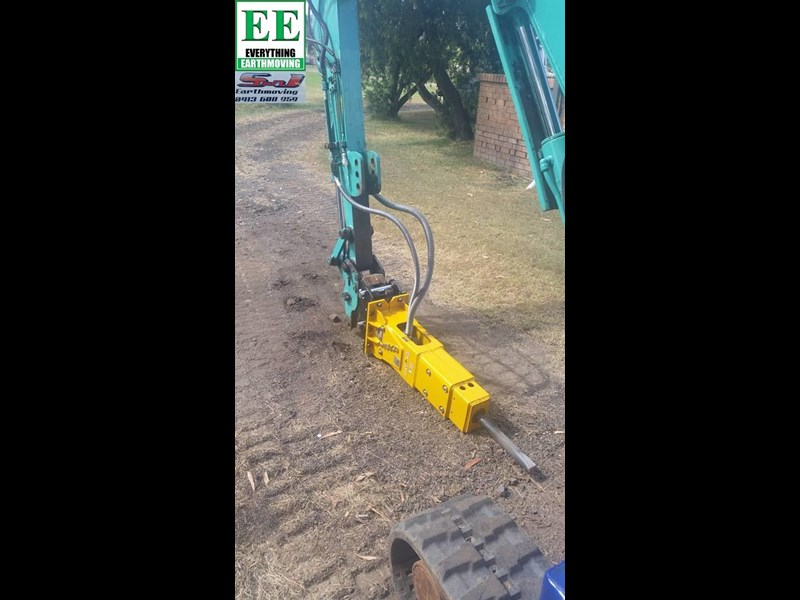 indeco hp200 whisper rock breaker from everything earthmoving 356955 041