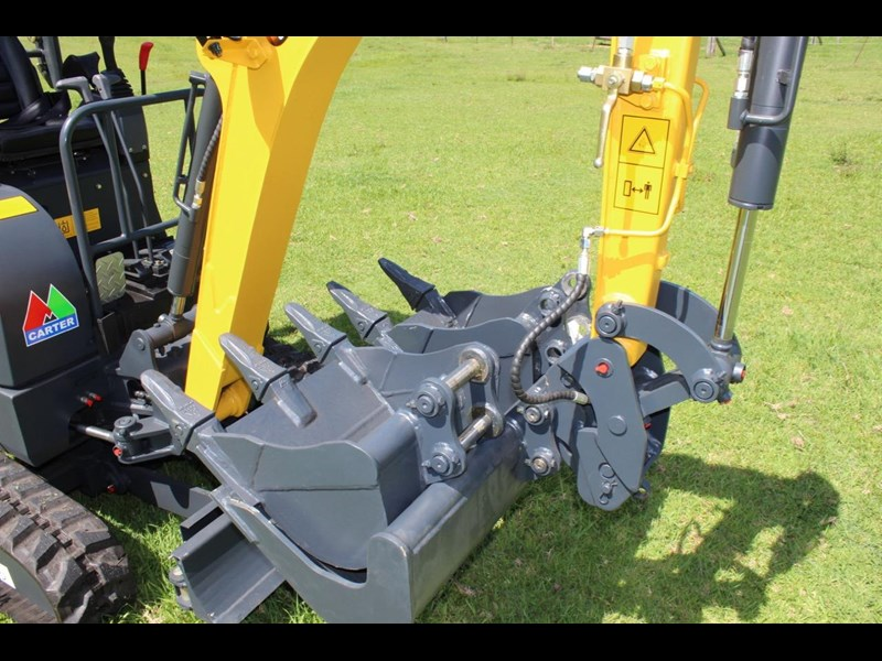 carter mini excavator ct16 yanmar powered with plan trailer 376694 027