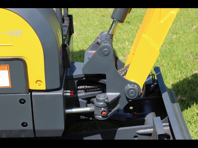 carter mini excavator ct16 yanmar powered with plan trailer 376694 030
