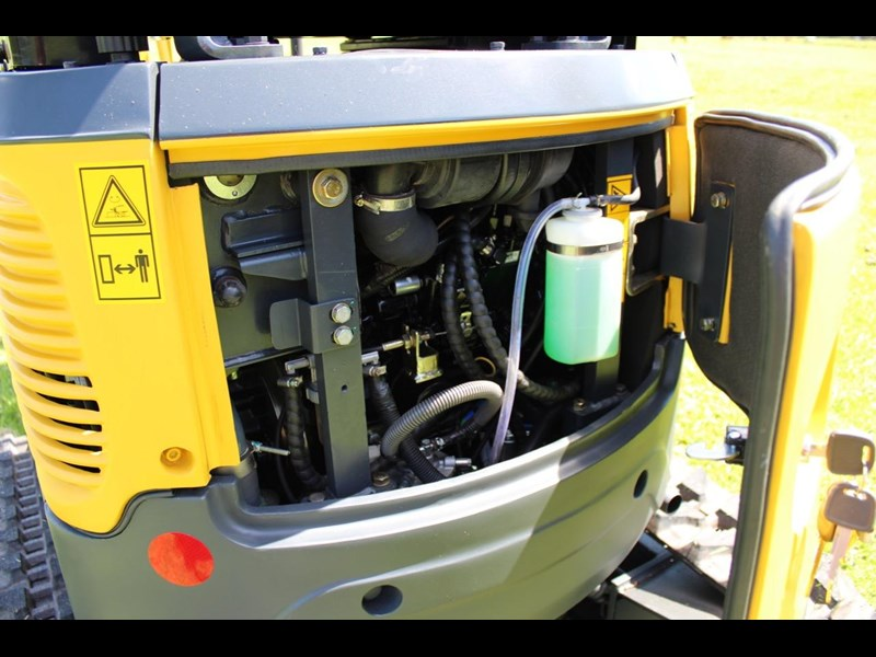 carter mini excavator ct16 yanmar powered with plan trailer 376694 043