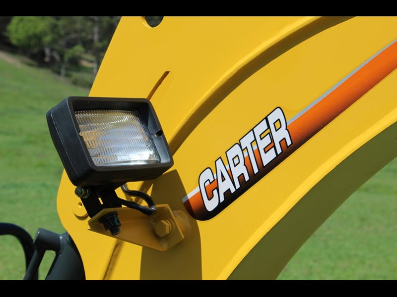 carter mini excavator ct16 yanmar powered with plan trailer 376694 048