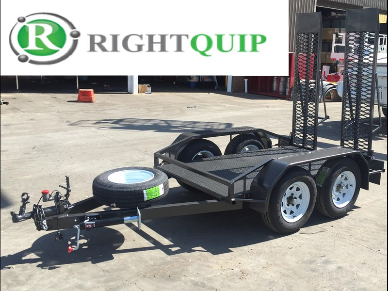 rightquip 19' scissor lift trailer 373880 003