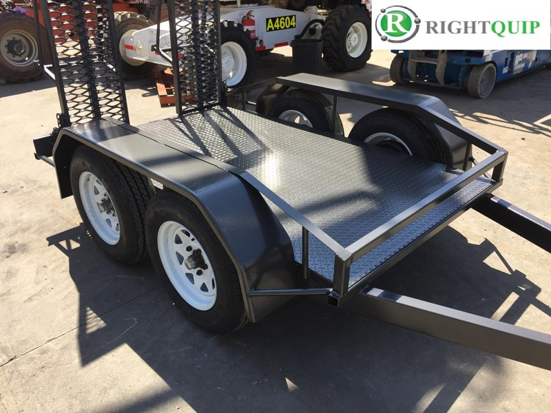 rightquip 19' scissor lift trailer 373880 009