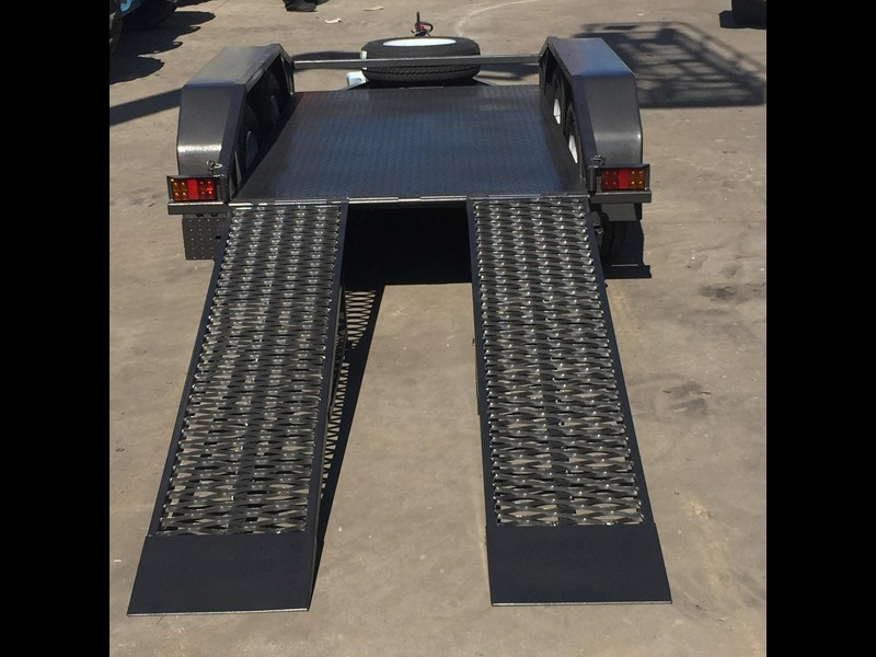 rightquip 19' scissor lift trailer 373880 019