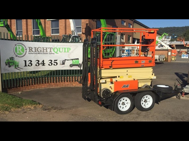 rightquip 19' scissor lift trailer 373880 017