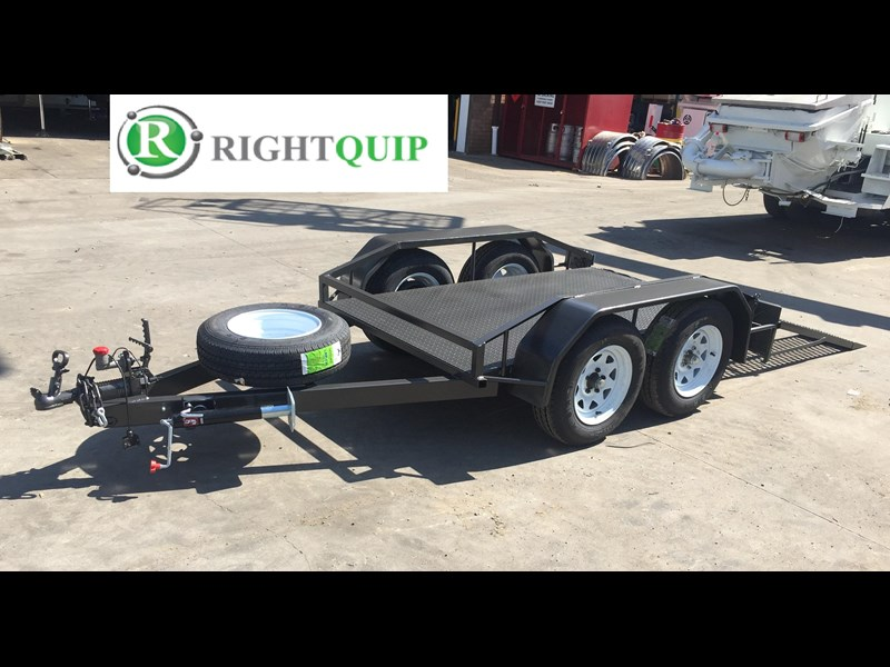 rightquip 19' scissor lift trailer 373880 013