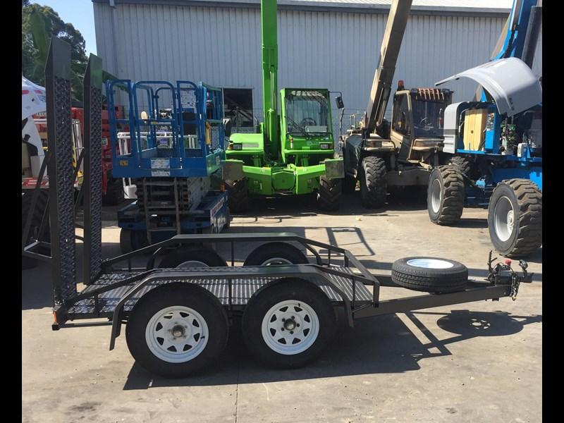 rightquip 19' scissor lift trailer 373880 021