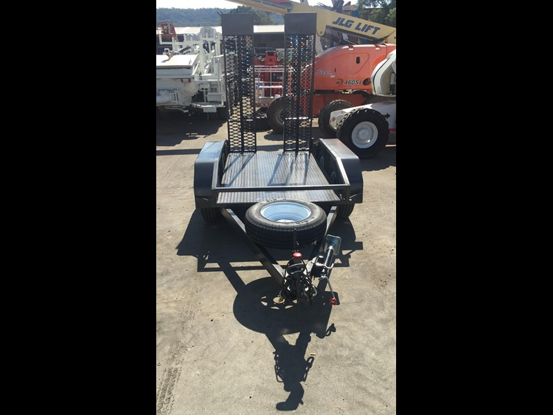 rightquip 19' scissor lift trailer 373880 023