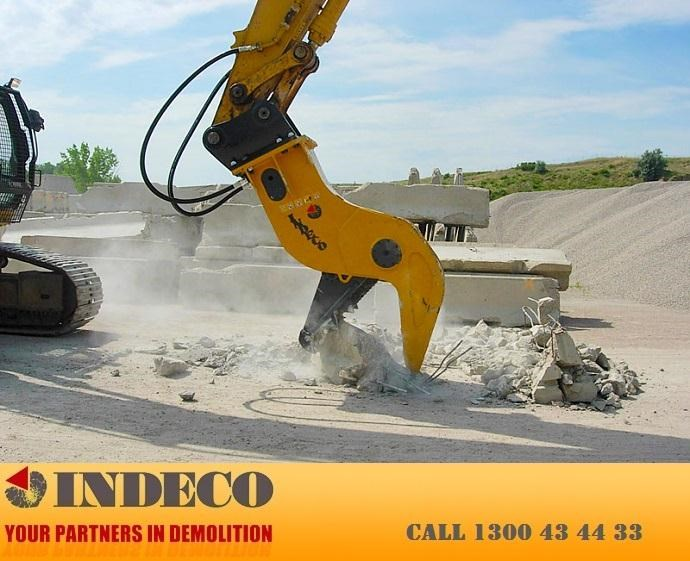 indeco irp750 rotating pulveriser (13 to 25 tonne) 376895 019