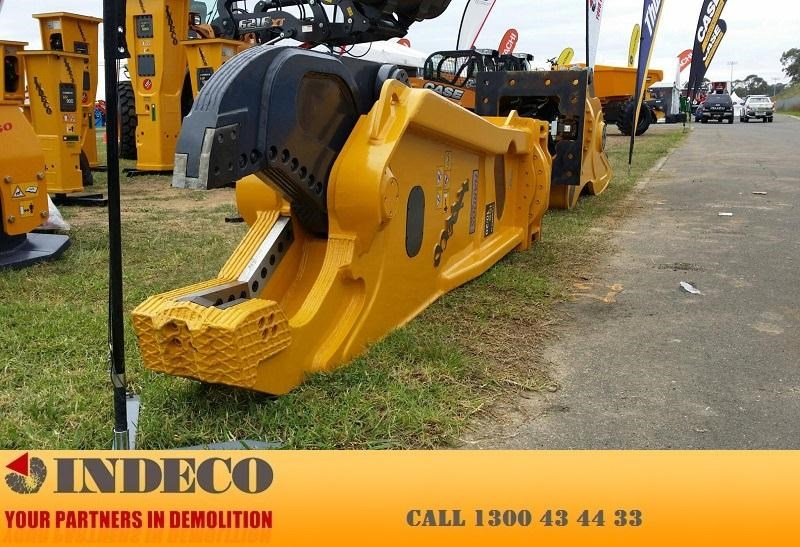 indeco irp750 rotating pulveriser (13 to 25 tonne) 376895 029