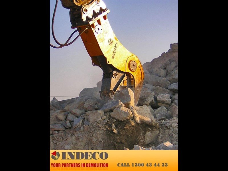 indeco irp1000 rotating pulveriser (22.5 to 42 tonne) 376901 003