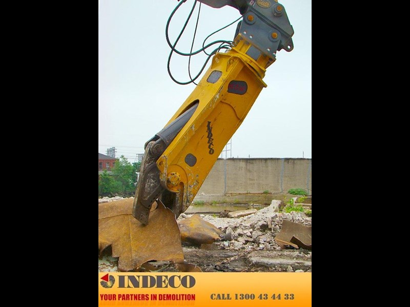 indeco irp1000 rotating pulveriser (22.5 to 42 tonne) 376901 027