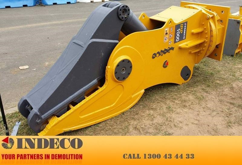 indeco irp1000 rotating pulveriser (22.5 to 42 tonne) 376901 013