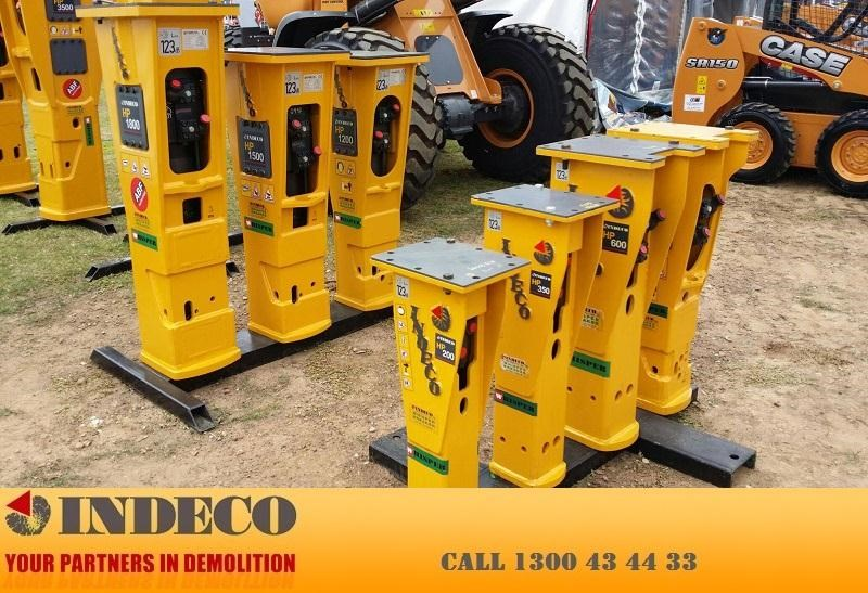 indeco irp1000 rotating pulveriser (22.5 to 42 tonne) 376901 041