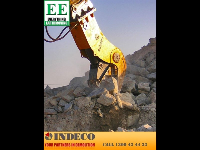 indeco irp1250 rotating pulveriser (30 to 57 tonne) 376902 019