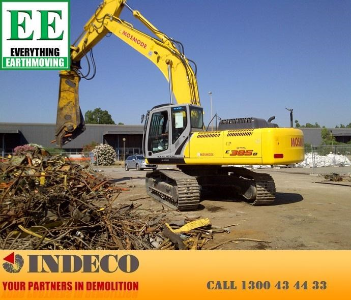 indeco irp1250 rotating pulveriser (30 to 57 tonne) 376902 055