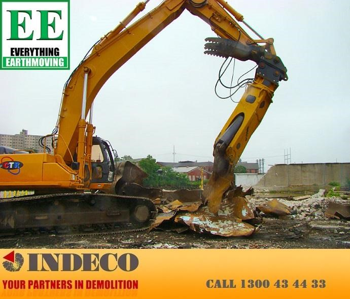 indeco irp750 rotating pulveriser (13 to 25 tonne) 376895 063