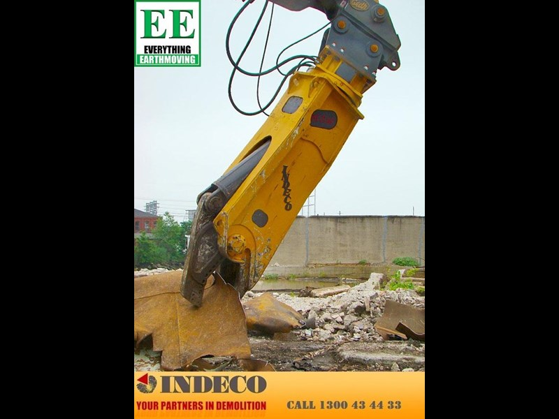 indeco irp750 rotating pulveriser (13 to 25 tonne) 376895 061