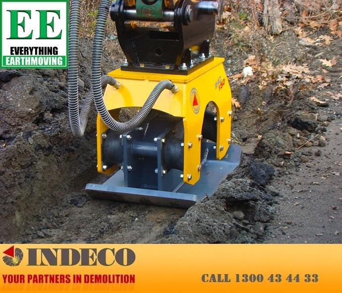 indeco irp750 rotating pulveriser (13 to 25 tonne) 376895 075