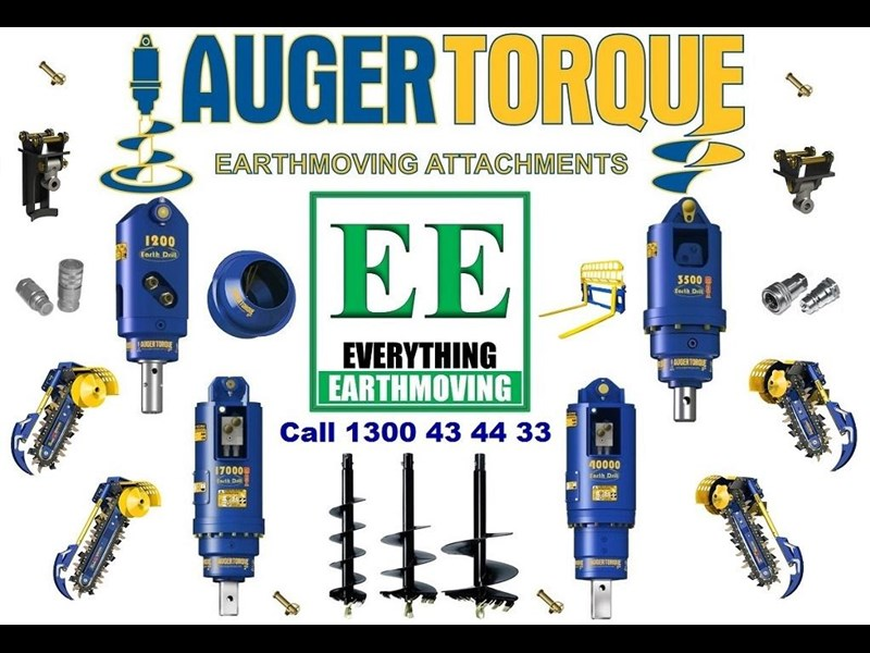auger torque - augers, auger drives, extensions, hole cleaners, pallet forks, road brooms & trenchers from everything earthmoving 377400 001