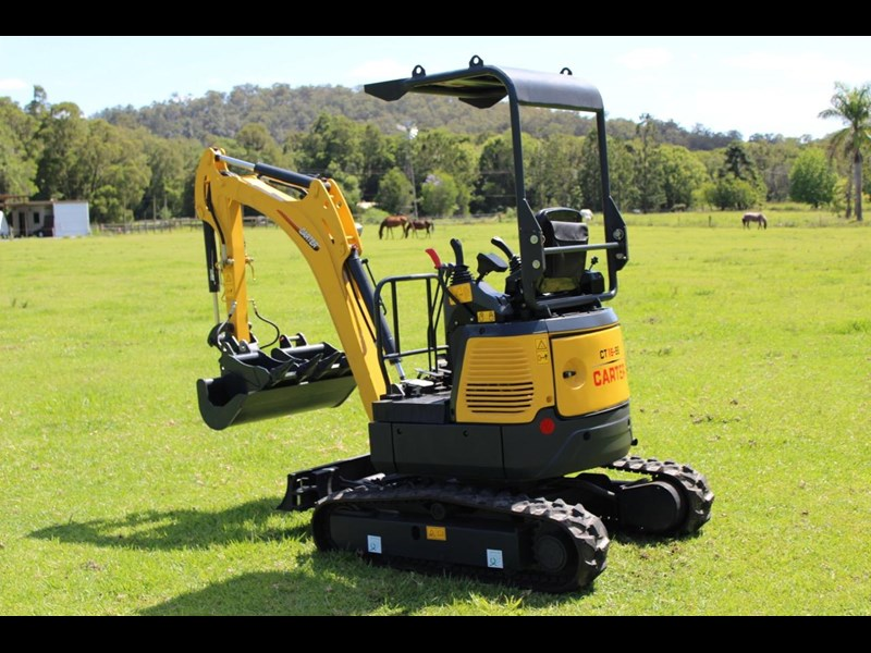 carter ct16 mini excavator yanmar powered 377516 019