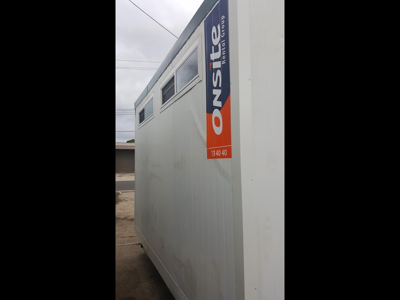 e i group portables used 3.6m x 3m ablution 378368 005