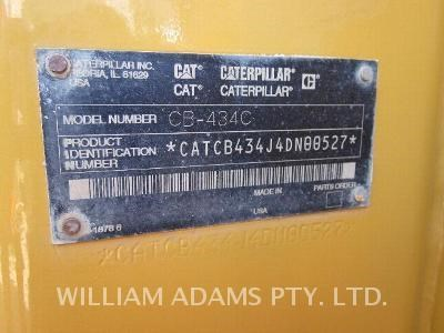 caterpillar cb-434c 163740 011